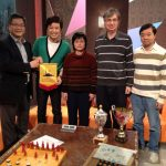 Elton Yuen, Poon poon, Huang Yuying, Bill Brydon and Stephen Fung at Fairchild TV