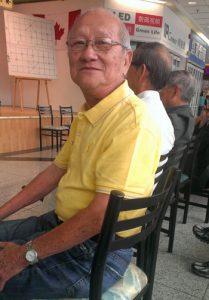 Ngo Khai won the Senior's Championship