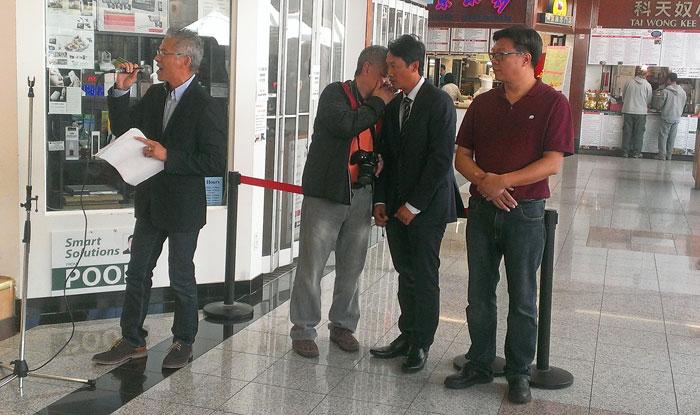 Bowen Leung (Mississauga), Andy Chan (Macau Club Toronto), Sheridan Huang (Willow Springs Winery), Paul Ng (Markham/New Mongkok)