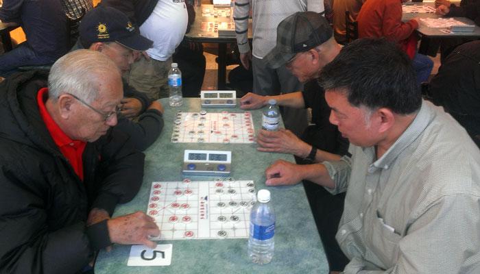 Scarborough Seniors Chess Club versus Mississauga