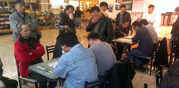 North York versus Macau Club (Toronto)