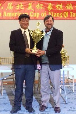 Individual champion Michael Hu
