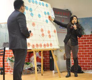 Master Zhao Wei and Grandmaster Guo LiPing