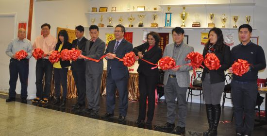 Official opening of the Markham Xiangqi Association's clubhouse at New Kennedy Square