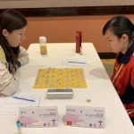 Soon to be champion Jia Dan (L) vs.Cao Phuong Thanh of Vietnam